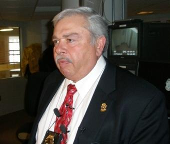 Johnson County, KS Sheriff Frank Denning  to meet with fire chiefs in days before July 4th to plot fire threat remedies.
