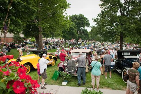The Art of the Cars Concours takes place on the KCAI campus this Sunday, June 24, 2012 from 10 a.m. to 4 p.m.