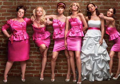 "The well-dressed cast of ""Bridesmaids"""
