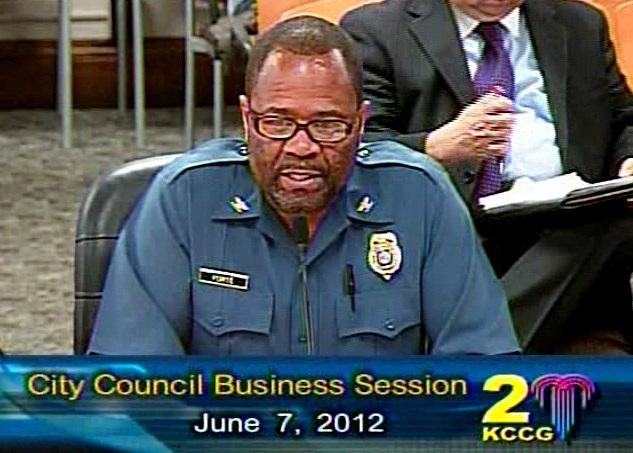 Kansas City Police Chief Daryl Forte confirms need to better convince victims to testify.