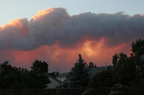 Photo of Colorado's High Park Fire, taken June 10, 2012.