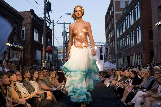The West 18th Street Fashion Show takes place Saturday in Kansas City's Crossroads District