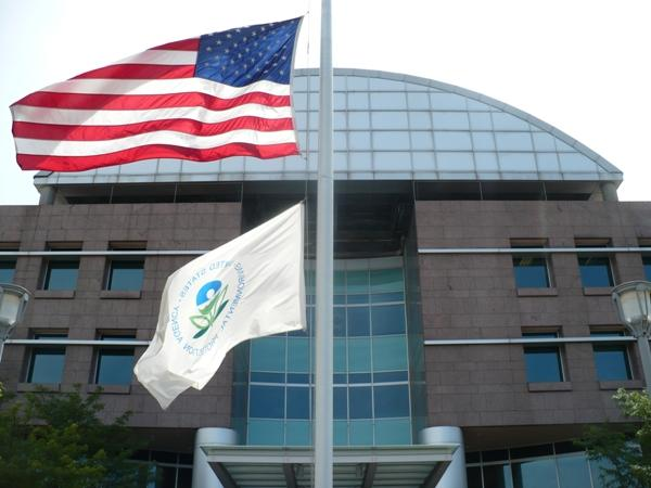 The EPA Regional Headquarters office building in Downtown Kansas City, Kansas
