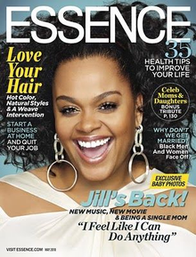 Jill Scott on the cover of the May 2010 issue of Essence.