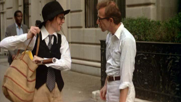 "The dysfunctional relationship between Annie Hall (Diane Keaton) and Alvy Singer (Woody Allen) crackled with bittersweet comedy in ""Annie Hall""  (1977)."