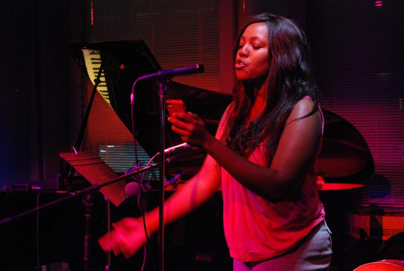 Jas Taylor performs.