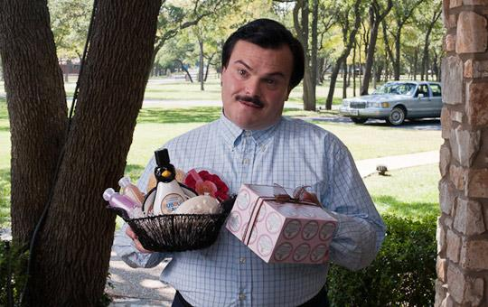 "Jack Black stars in ""Bernie"" along with Shirley McLaine"