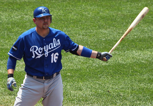 Kansas City Royals designated hitter Billy Butler (16), Kansas City Royals at Baltimore Orioles May 26, 2011.