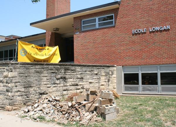 Academie Lafayette, French charter immersion school, is moving its K-2 students into the former site of Ecole Longan on Cherry Street in Kansas City, Mo.