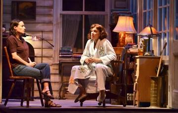 "Cheryl Weaver (right) and Vanessa Severo in KC Rep's ""August: Osage County"""
