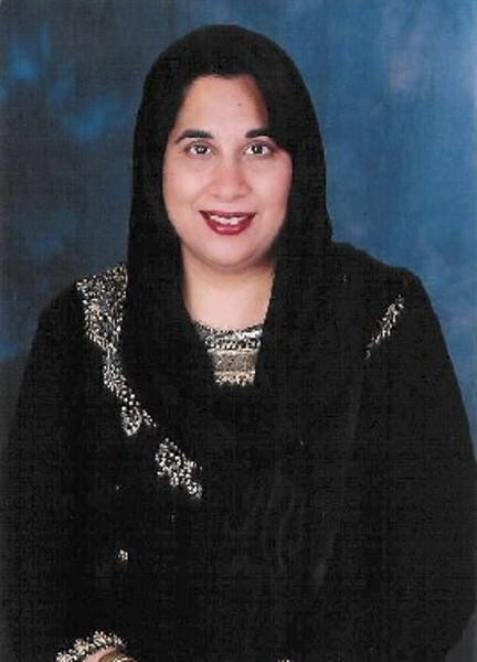 Mahnaz Shabbir, advisor to the Midland Islamic Council and the Crescent Peace Society.