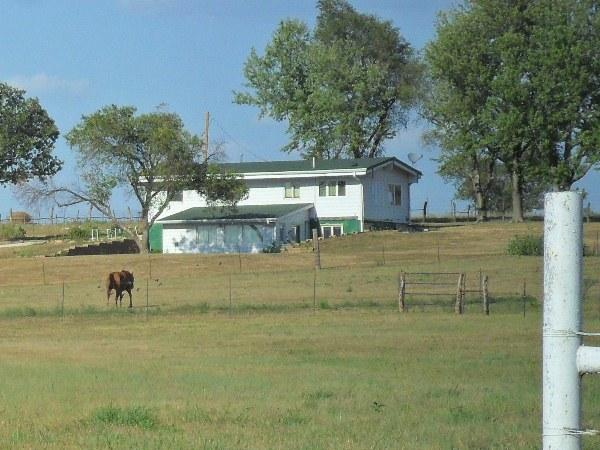 Walter Byers's home on his ranch outside Emmett, Kan.