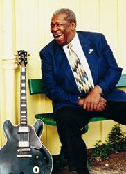 B.B. King plays at Starlight Theatre on Friday, August 17 at 8:00 p.m.