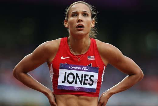 U.S. hurdler Lolo Jones
