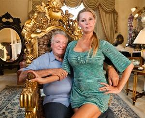 "David and Jackie Siegel, the subjects of the documentary ""The Queen of Versailles""."
