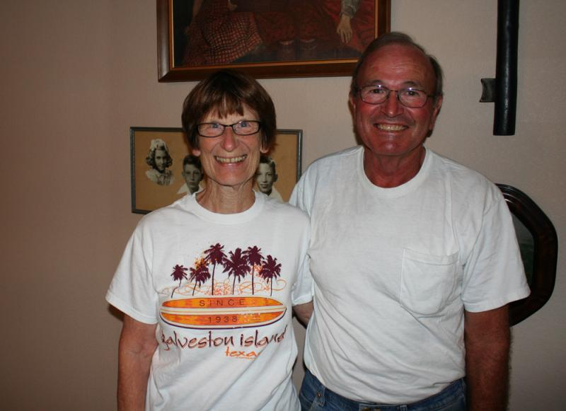 Rose Alderson and her husband Loren have farmed outside of Nickerson, Kan., for decades. 