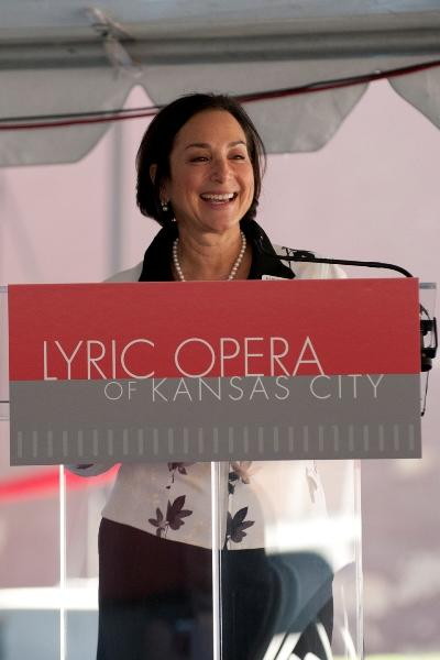 """General Director Deborah Sandler says the new center is """"a declaration of where we want to go and who we want to be."""""""