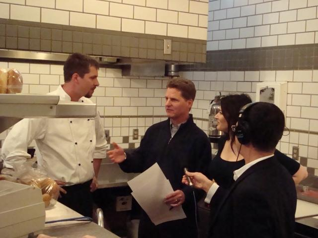 A remote broadcast from Webster House Restaurant with former chef Charles D'Ablang, Steve Kraske, food writer and cookbook author Nigella Lawson, and Stephen Steigman