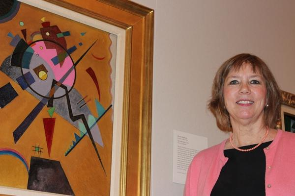 Jan Schall, Sanders Sosland Curator of Modern and Contemporary Art at the Nelson-Atkins Museum of art.