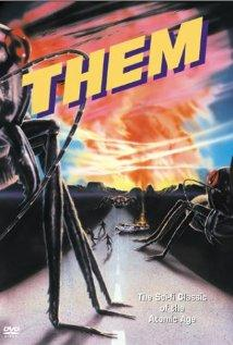 Them! released in 1954 by Warner Bros. Pictures