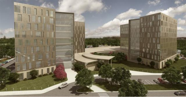 What Cerner's new Kansas City, Kansas campus will look like when it's completed. The project is being fast-tracked.