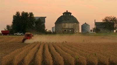 Farm land.