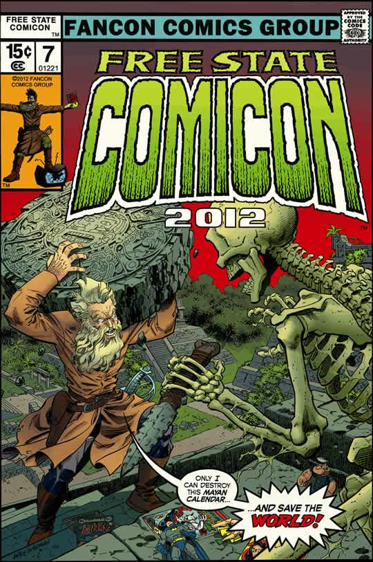 The 2012 Free State Comicon takes place Saturday at the Douglas County Fairgrounds.