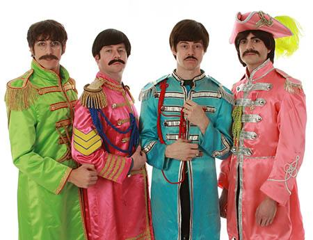The Beatles tribute band Abbey Road performs Friday at the Screenland Armour Theater