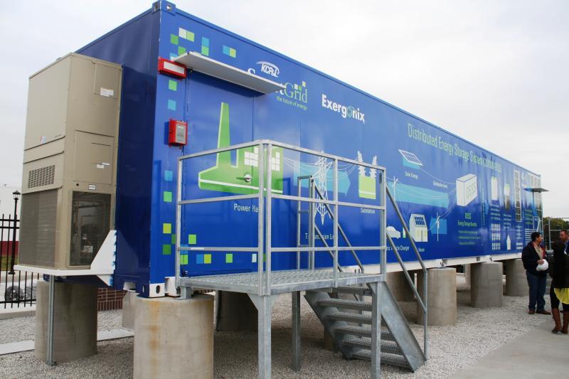 1 Megawatt Battery in the SmartGrid Innovation Park