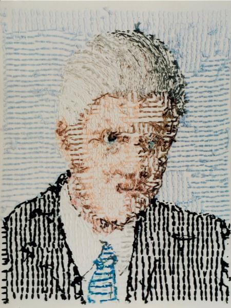 "Larry Schwarm, ""Bill Clinton, 42nd President of the United States,"" 2002. chromogenic color print"