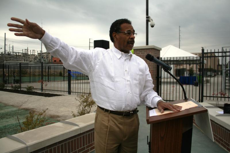 Congressman Emanuel Cleaver Speaks at SmartGrid Ribbon Cutting