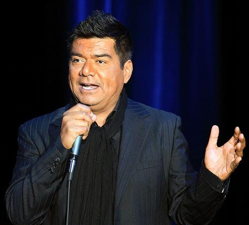 Comedian George Lopez does his stand-up routine Friday night at the Midland.