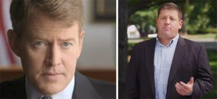 Chris Koster (left) and Ed Martin, candidates for Missouri Attorney General.