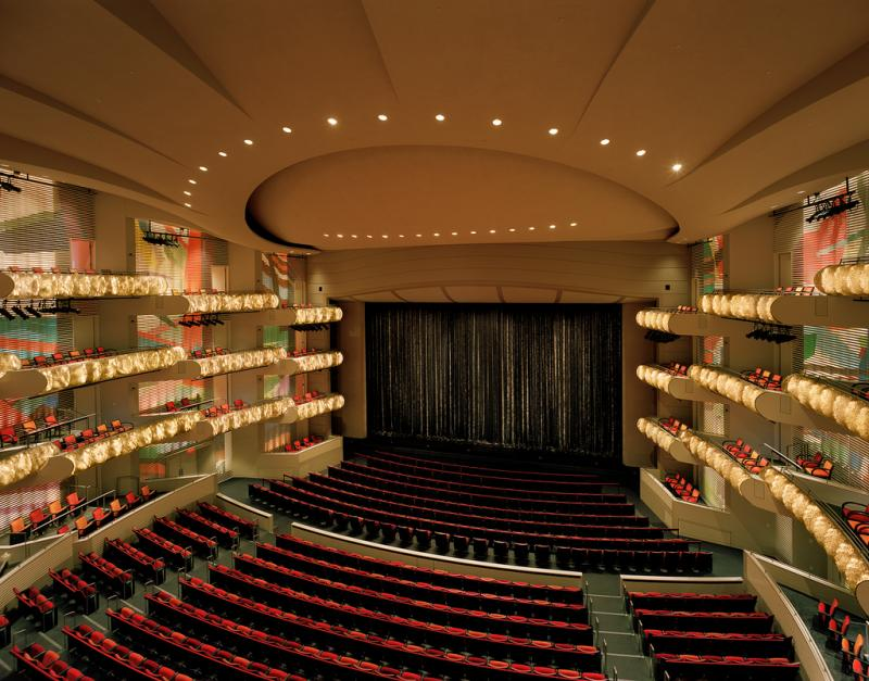Muriel Kauffman Theatre at the Kauffman Center.