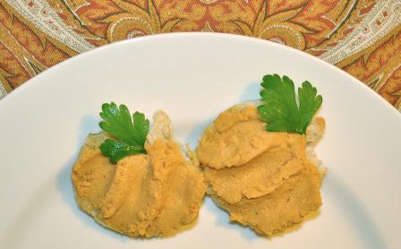 Pumpkin Bruschetta
