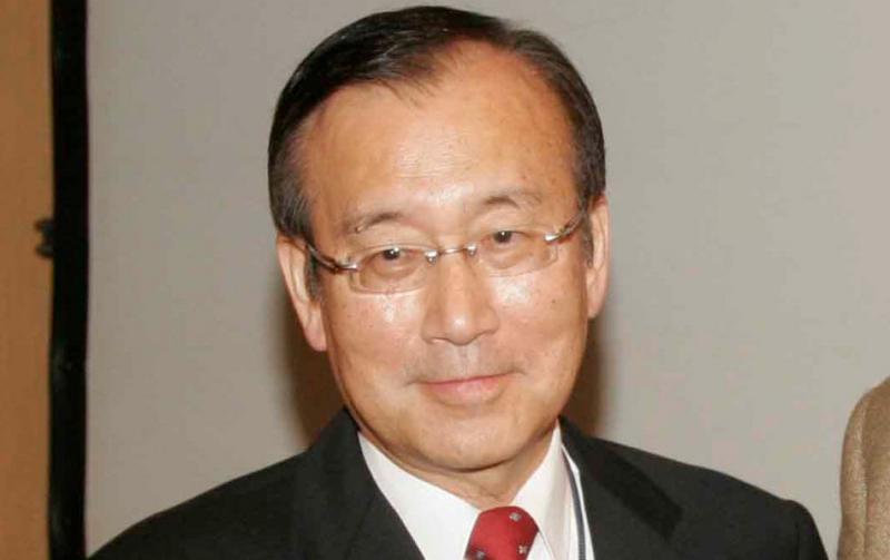 Former Hiroshima mayor Tadatoshi Akiba. Akiba receives the 2012 Community of Christ Peace Award today