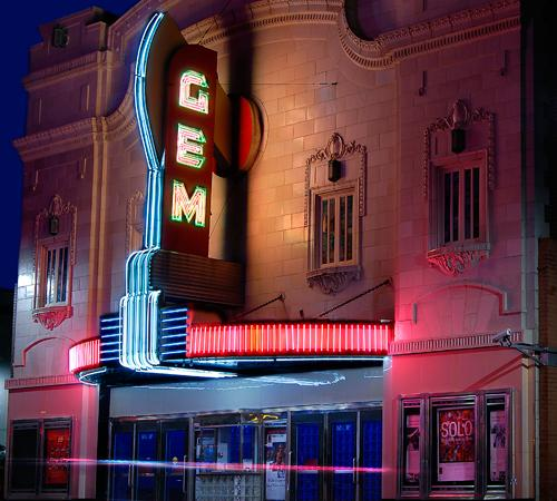 The Gem Theater celebrates its 100th anniversary this month.