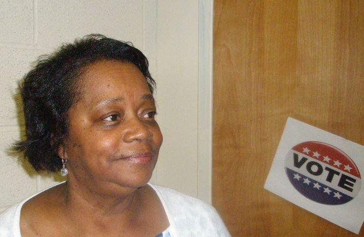 Joyce Johnson fears agenda of Republican U.S. Senate candidate Todd Akin.