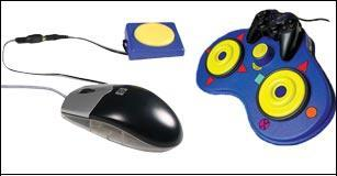 Computer mouse alternatives allow control of a computer's cursor for those challenged by a regular mouse.