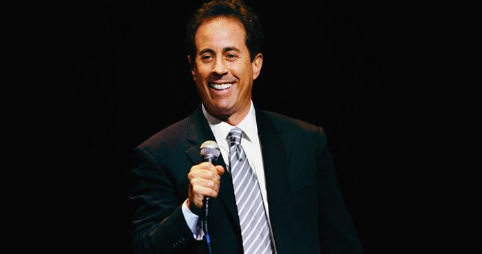 Comedian Jerry Seinfeld visits Kansas City's Midland Theatre on Friday night.