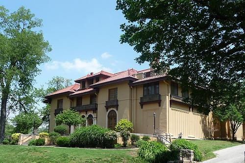 The museum is housed in a 1911 mansion.