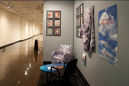 The Drop-in/Pop-Up Waiting Room Project at Spencer Museum of Art in Lawrence.