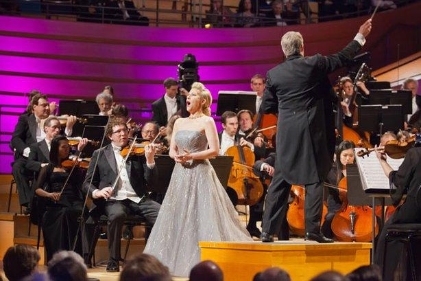 "Mezzo-Soprano performs in ""Homecoming"" filmed at the Kauffman Center's Helzberg Hall"