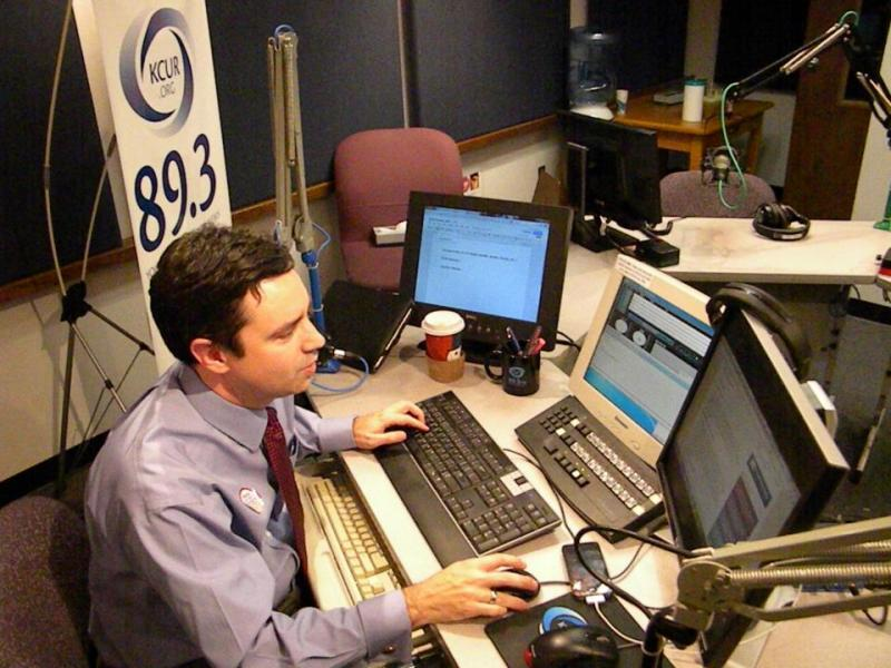 KCUR's Brian Ellison (@Ptsbrian) prepares for tonight's live election coverage.