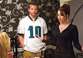 "Bradley Cooper and Jennifer Lawrence in ""Silver Linings Playbook"""