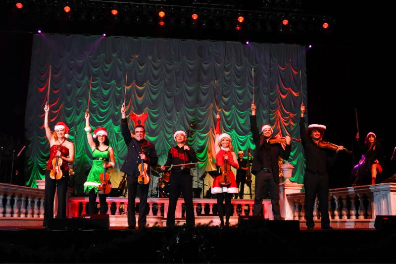 Bowfire Holiday Heart Strings brings its seasonal program to JCCC's Yardley Hall this weekend.