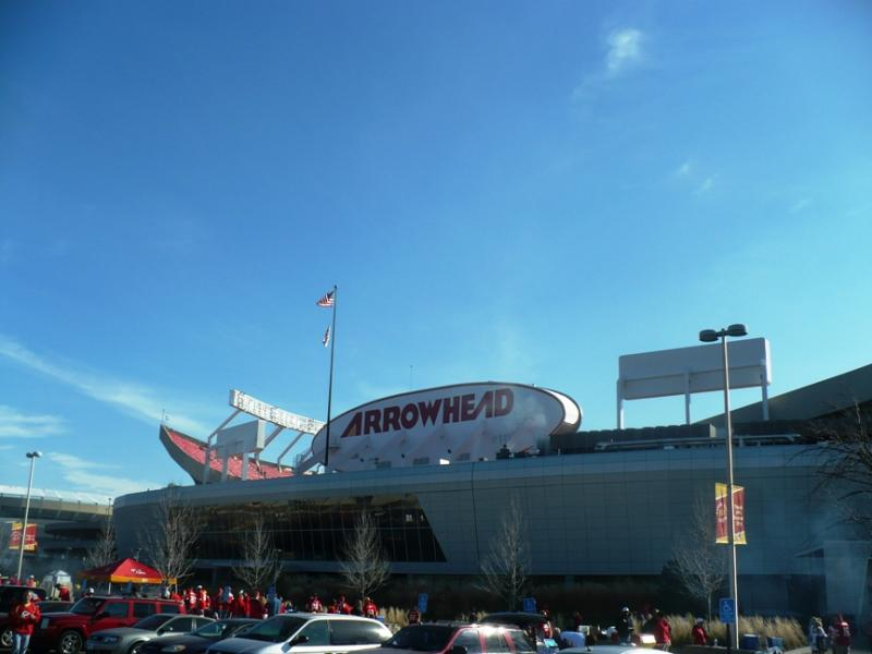 """It's a beautiful day and hopefully some healing can happen,"" said Chiefs' fan Lisa Smith, before the team went on to beat the Panthers at Arrowhead Stadium Sunday."