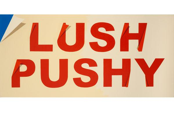 "Archie Scott Gobber, ""Lush Pushy,"" 2012"
