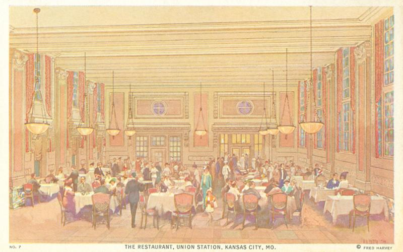 The Harvey House Restaurant in Union Station.