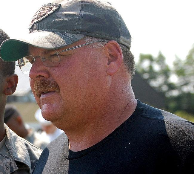 New Chiers coach Andy Reid